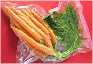 Zanahorias al vacio