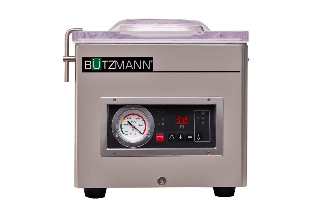 Envasadora al vacío Bützman con 260mm de barra de soldadura