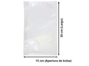 Bolsa Vacío Lisa de 15x30 cm