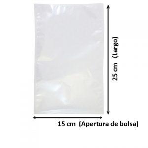 Bolsa de Vacio de 15x25 cm