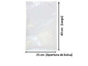 Bolsa de Vacio de 25x40 cm