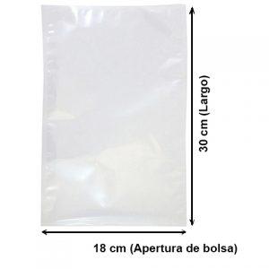 Bolsa Vacío Lisa de 18x30 cm