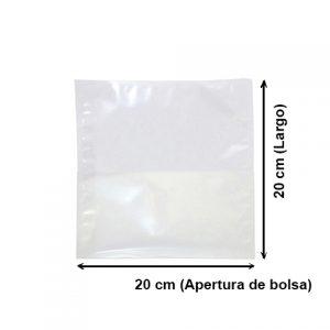 Bolsa Vacío Lisa de 20x20 cm