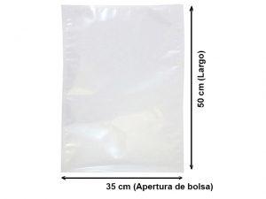 Bolsa Vacío Lisa de 35x50 cm