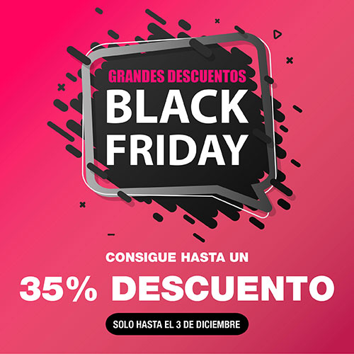 Black friday 2019: Descuentos de hasta 35%