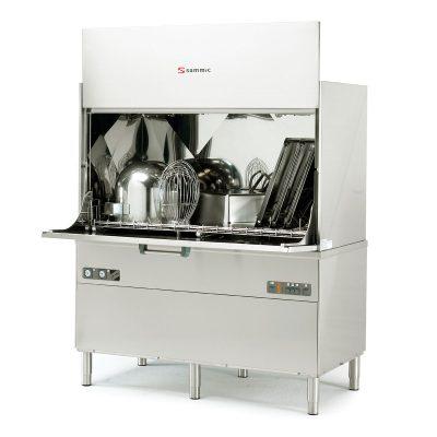 Lavaperolas industrial de hasta 20 cestas/hora de 1350x700 mm