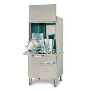 Lavaperolas industrial de hasta 30 cestas/hora de 630x550 mm