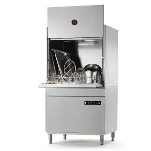 Lavaperolas industrial de hasta 30 cestas/hora de 780x700 mm
