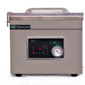 Envasadora al vacío profesional de campana BÜTZMANN con toma de GAS