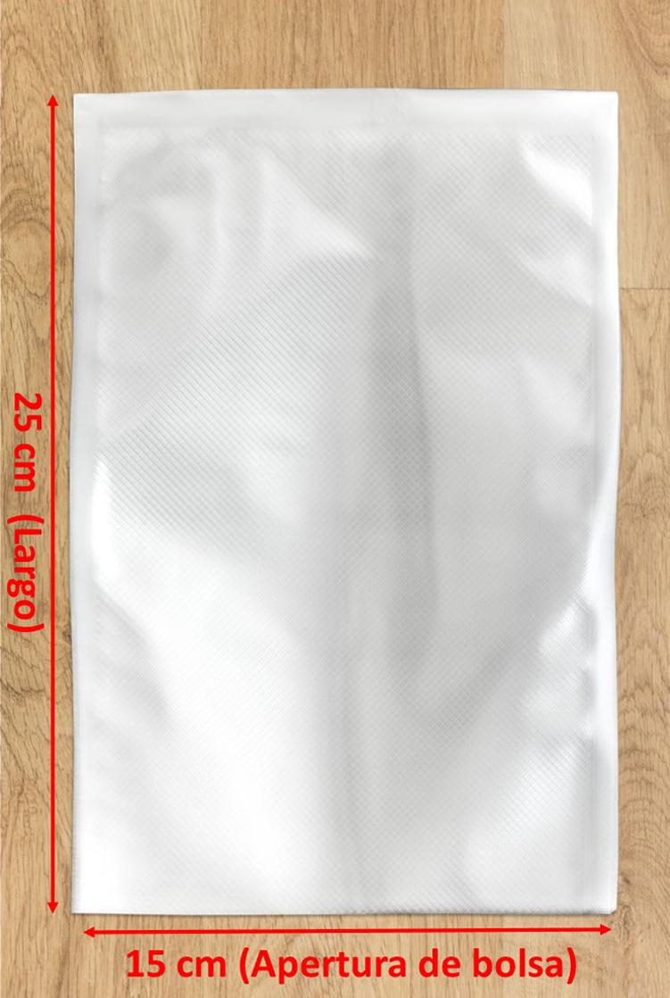 bolsa de vacío gofrada 15x25