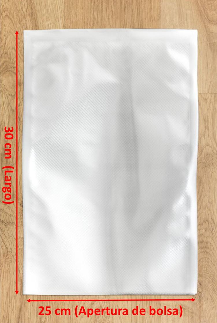bolsa de vacío gofrada 25x30
