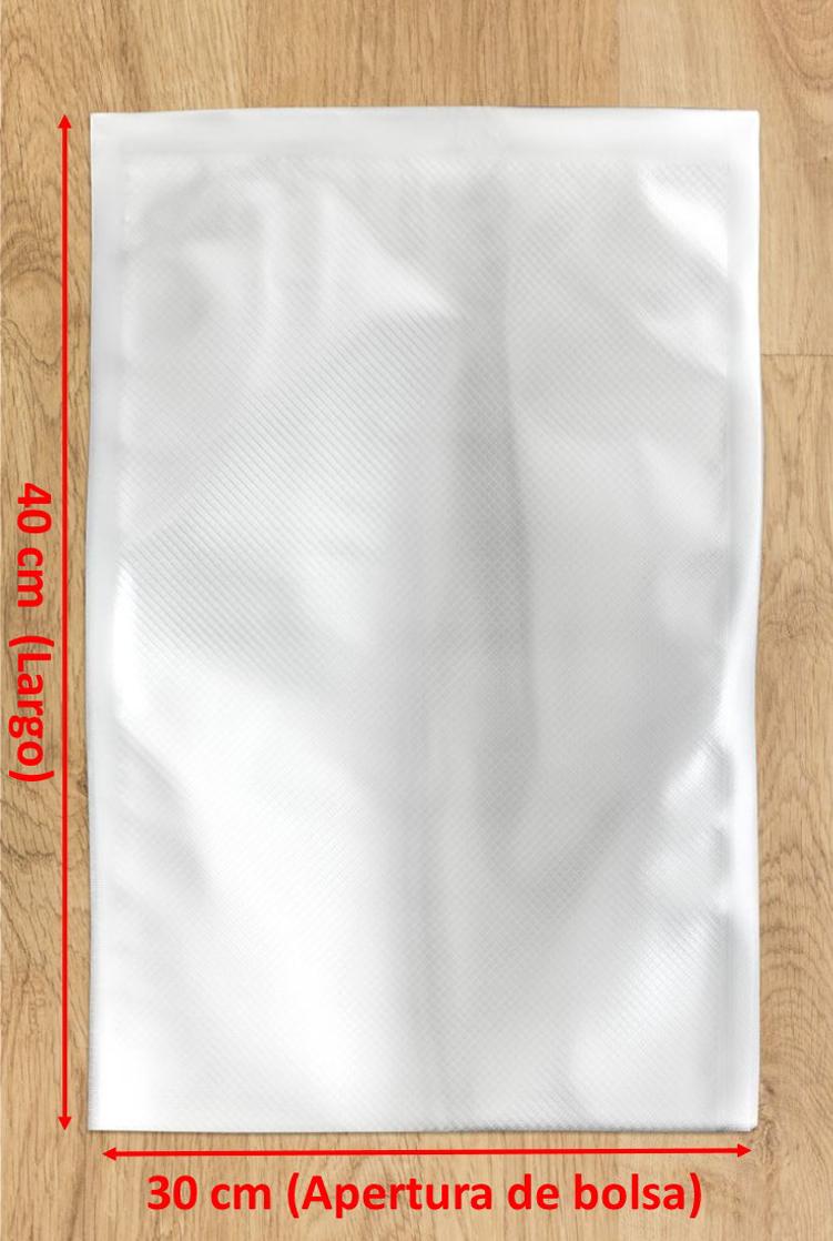 bolsa de vacío gofrada 30x40